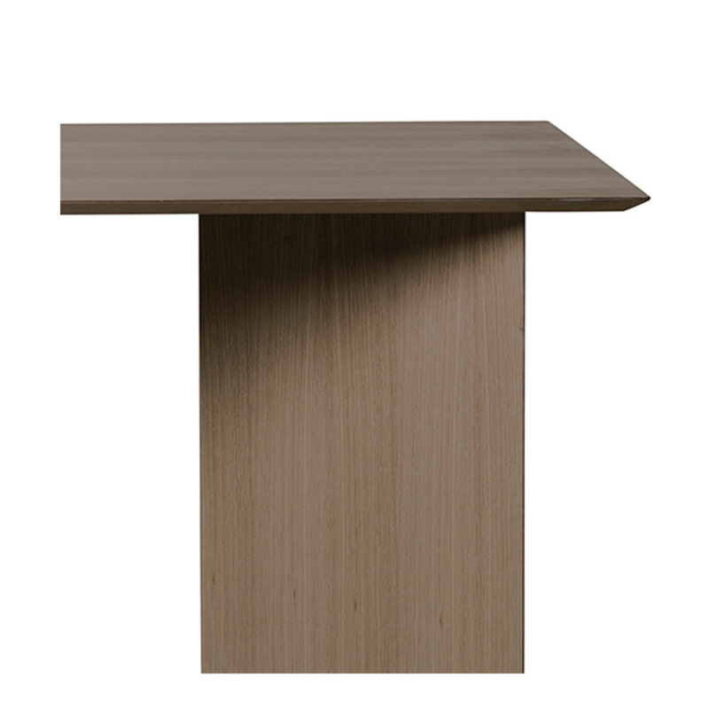 ferm LIVING-collectie Mingle Table Top 210 cm - Dark Stained Oak