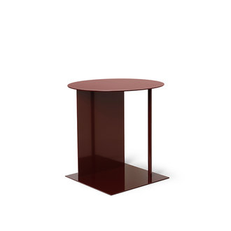 ferm LIVING Place Side Table - Red Brown