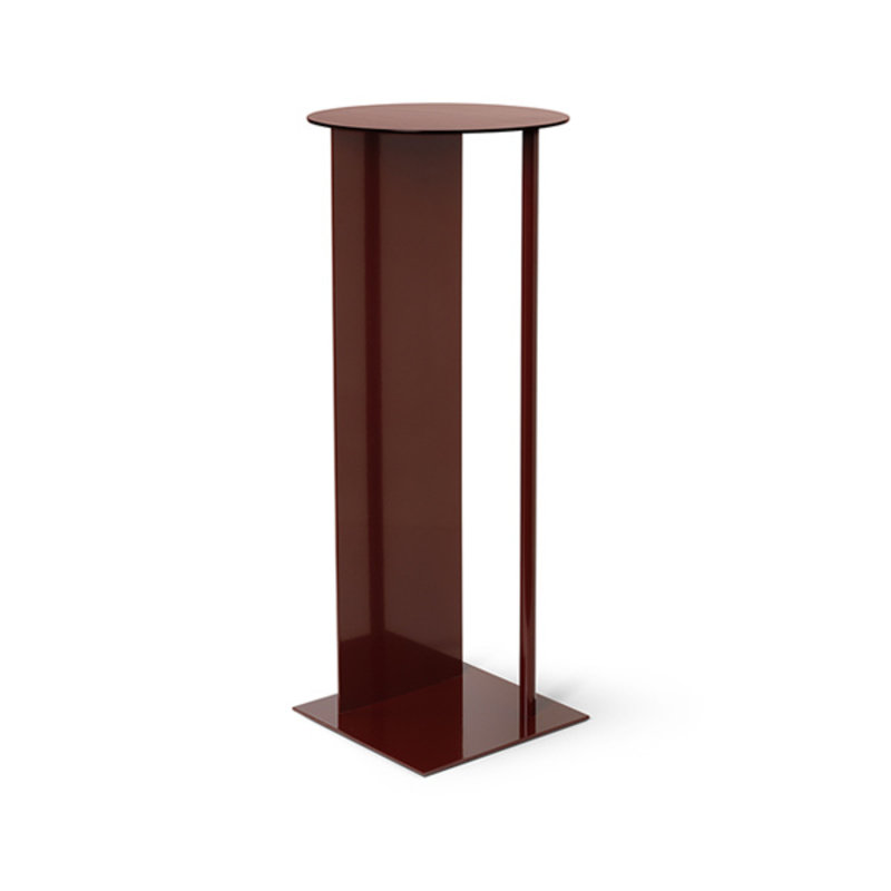 ferm LIVING-collectie Place Pedestal - Red Brown