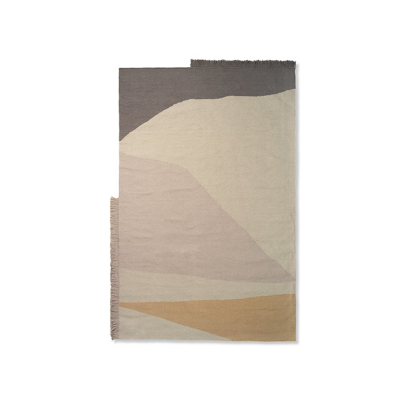 ferm LIVING-collectie Kelim Rug - Earth - 160x250 - Multi