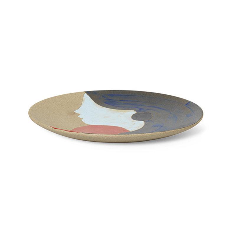 ferm LIVING-collectie Tala Ceramic Platter - Multi