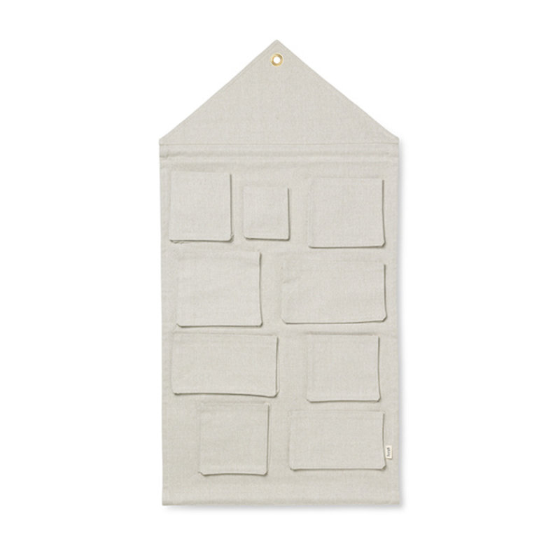 ferm LIVING-collectie House Wall Storage - Sand
