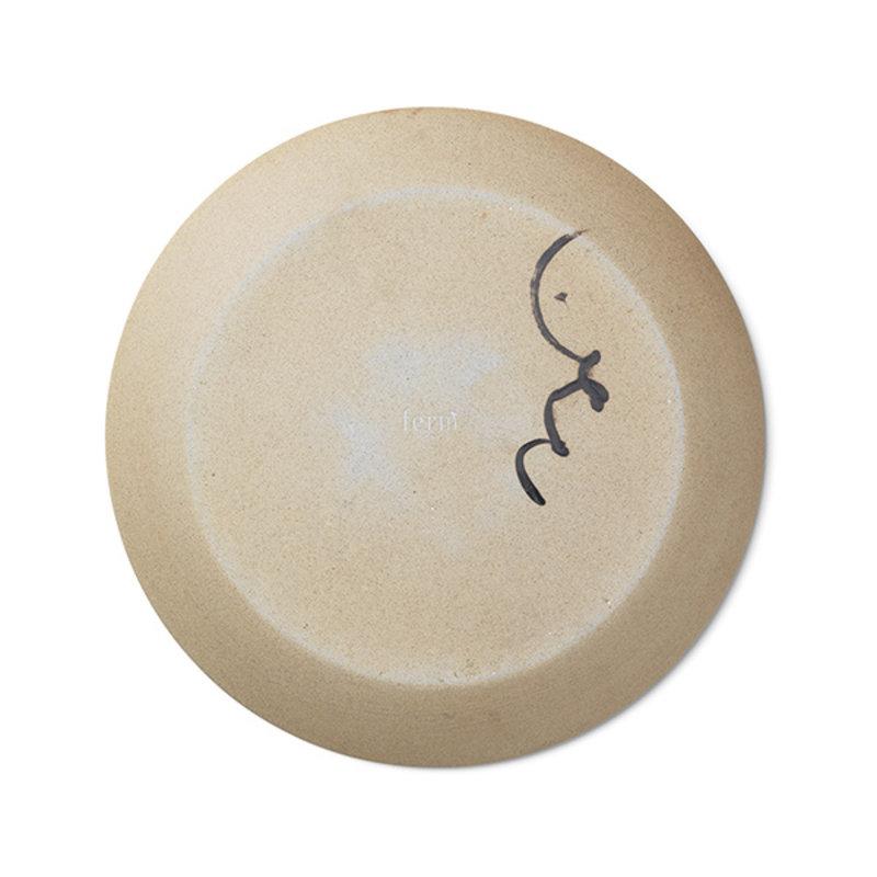 ferm LIVING-collectie Aya Ceramic Platter - Multi