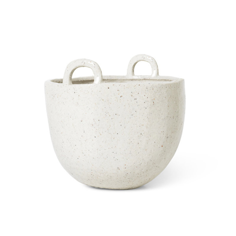 ferm LIVING-collectie Bloempot Speckle off white