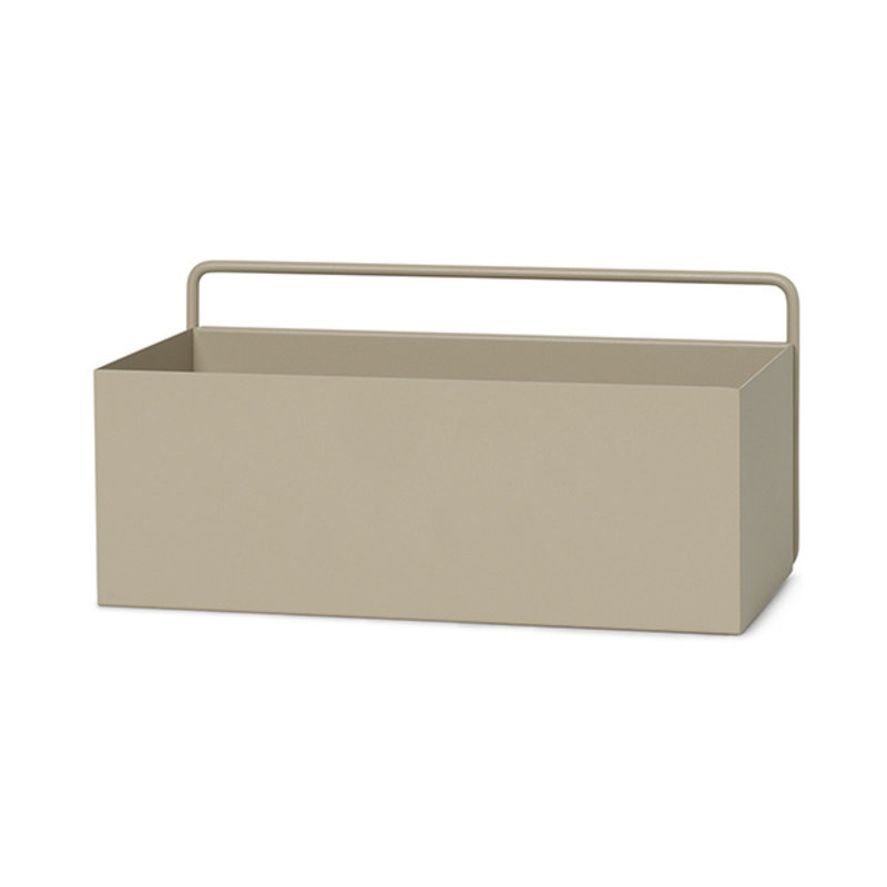 ferm LIVING-collectie Wall Box - Rectangle - Cashmere