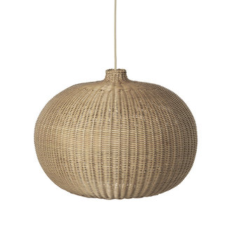 ferm LIVING Braided Belly Lamp Shade - Natural