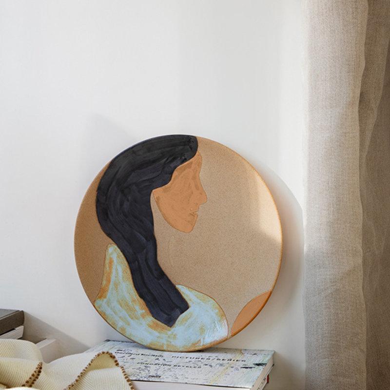 ferm LIVING-collectie Keramiek bord Hessa