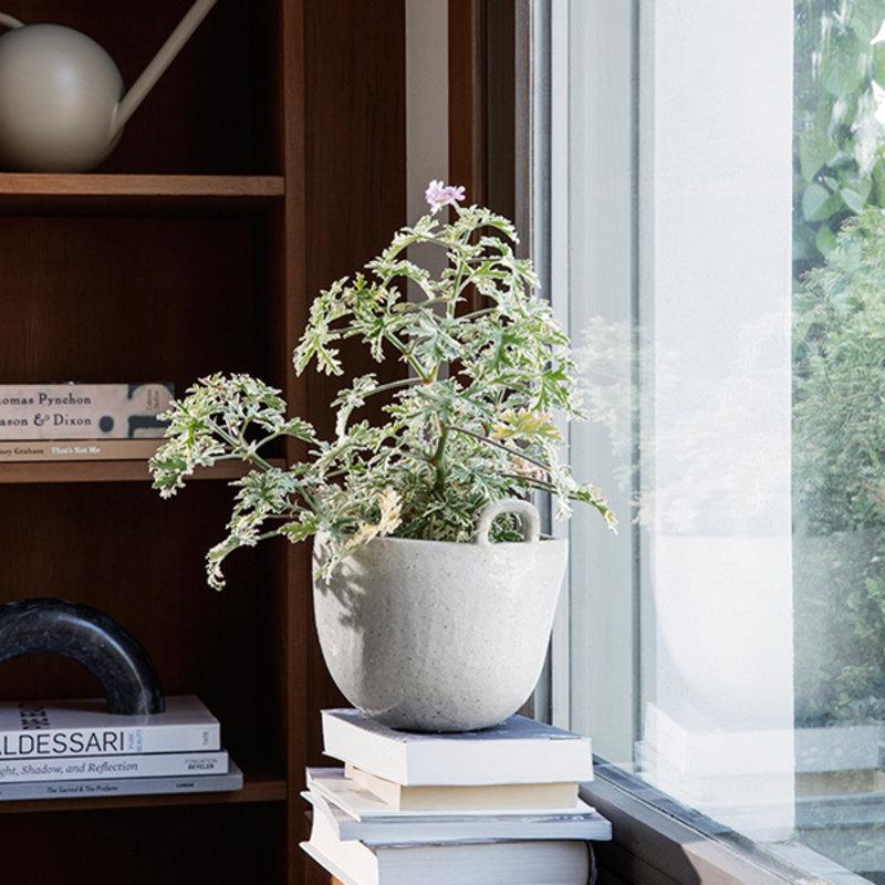 ferm LIVING-collectie Speckle Pot S Off-White