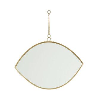 Madam Stoltz Hanging mirror