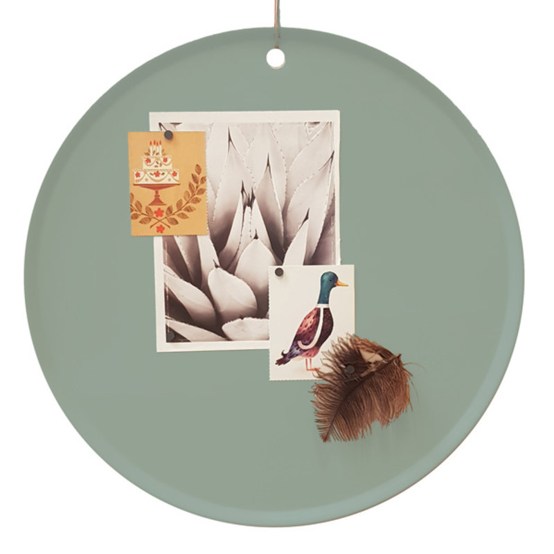 E|L by DEENS.NL-collectie Magneetbord MARIE Eucalyptus Vintage
