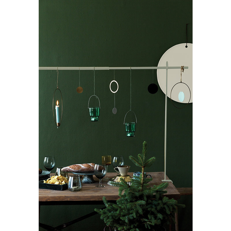 E|L by DEENS.NL-collectie Table clamp gold  - Copy