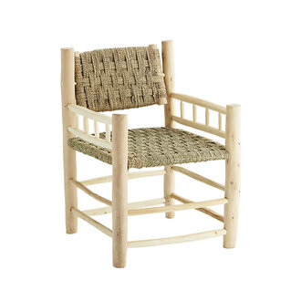 Madam Stoltz Wooden lounge chair