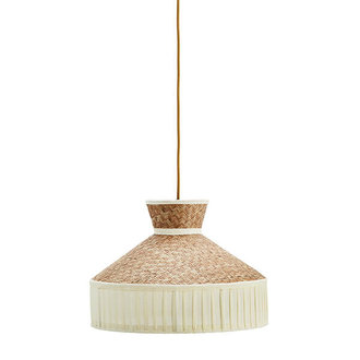Madam Stoltz Cane ceiling lamp w/ cotton