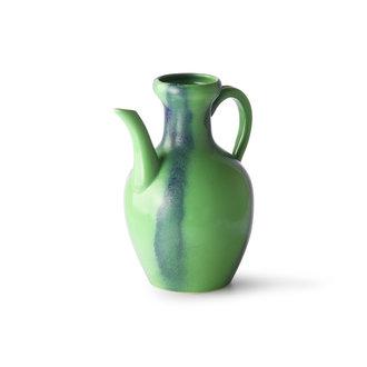 HKliving ceramic jug green/blue