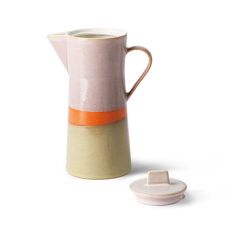 HKliving-collectie ceramic 70's coffee pot