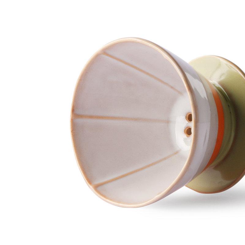 HKliving-collectie Keramiek seventies koffiefilter
