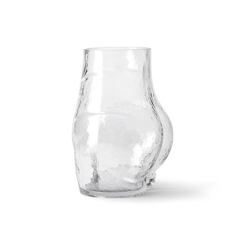 HKliving-collectie glass bum vase