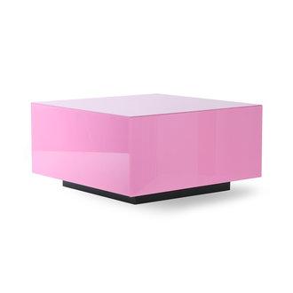 HKliving mirror block table pink L