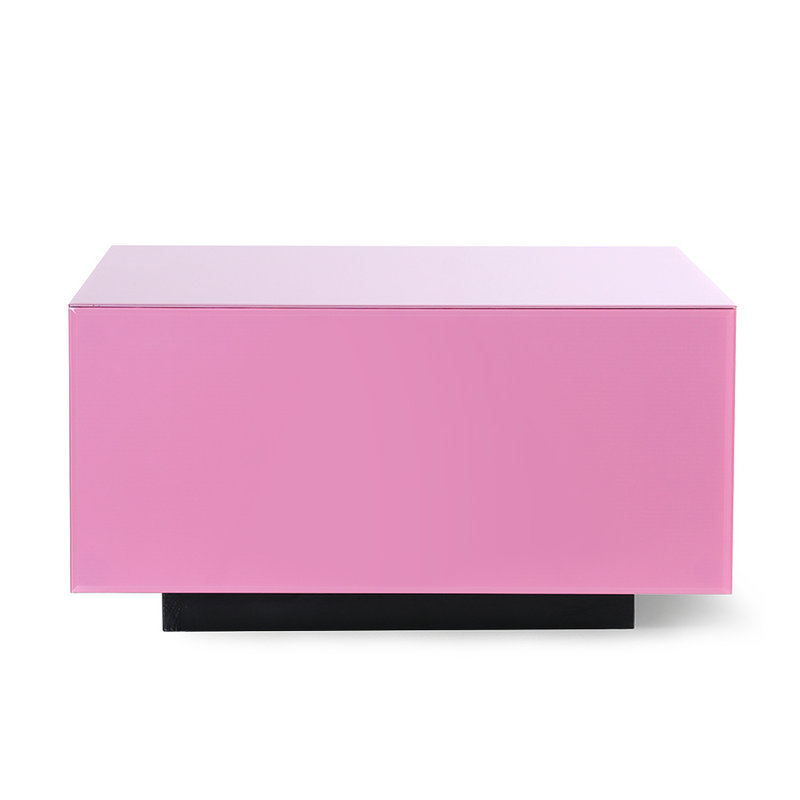 HKliving-collectie mirror block table pink L