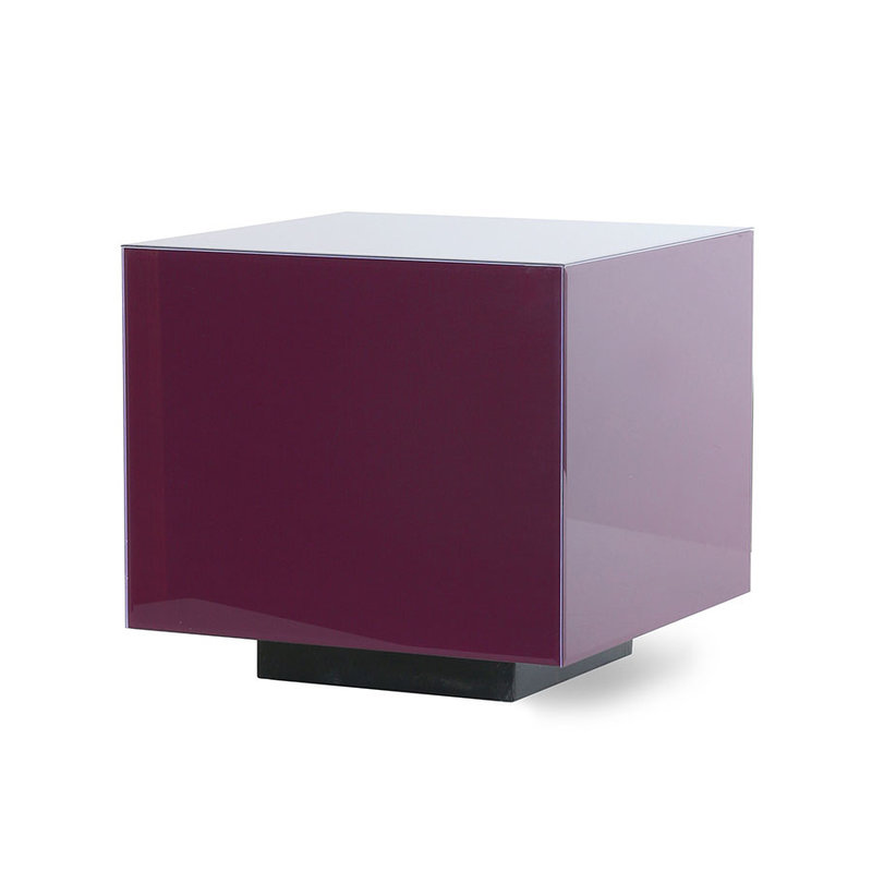 HKliving-collectie mirror block table purple M