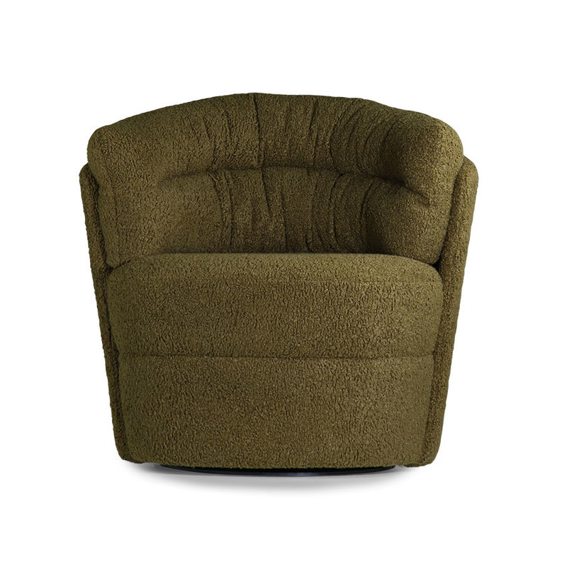 HKliving-collectie Twister fauteuil groen