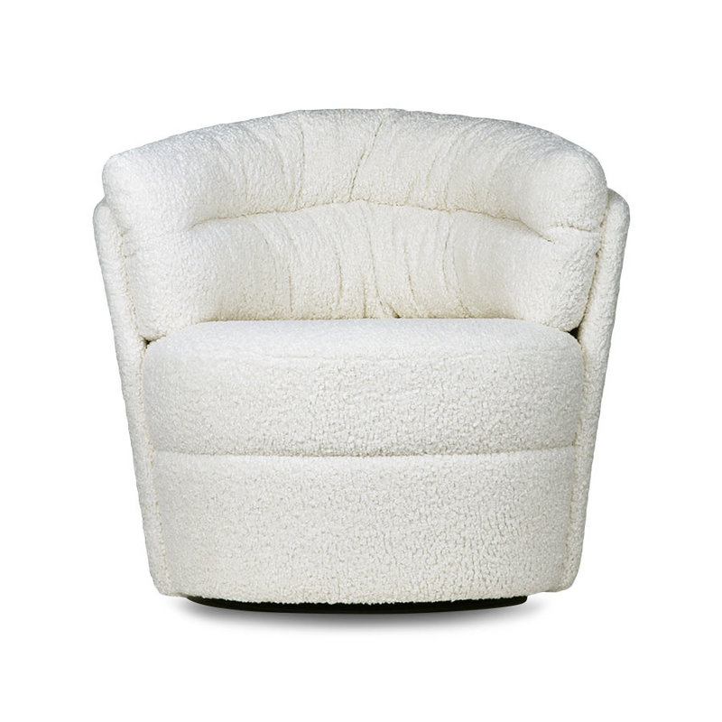 HKliving-collectie twister fauteuil cream