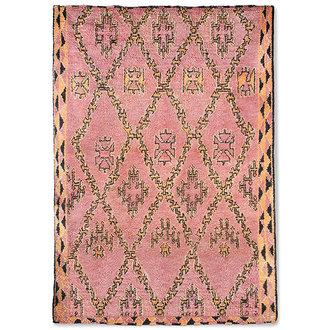 HKliving hand knotted woolen berber rug terra/orange (250x350)