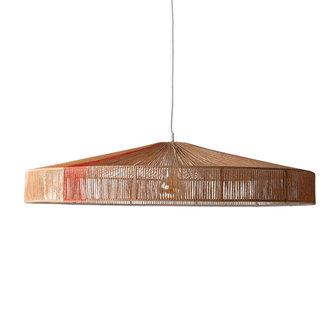 HKliving Hanglamp touw terra kleuren