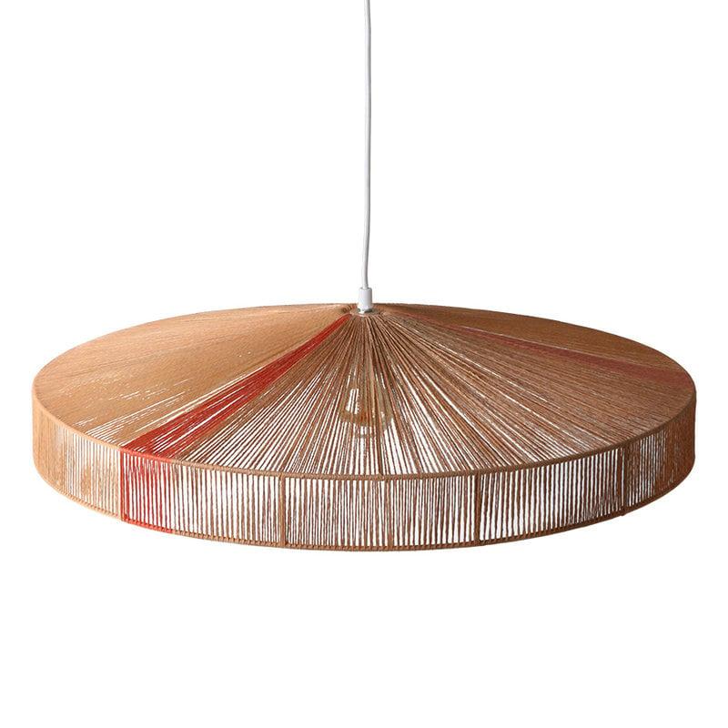 HKliving-collectie Hanglamp touw terra kleuren