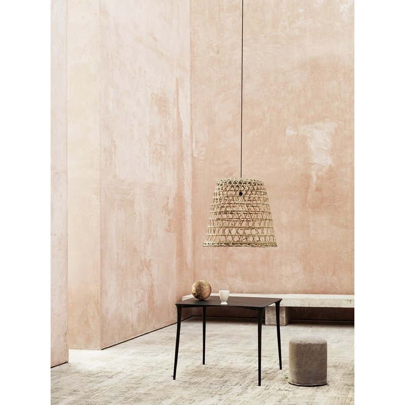 Tine K Home-collectie Bamboo basket/ lampshade 40 cm