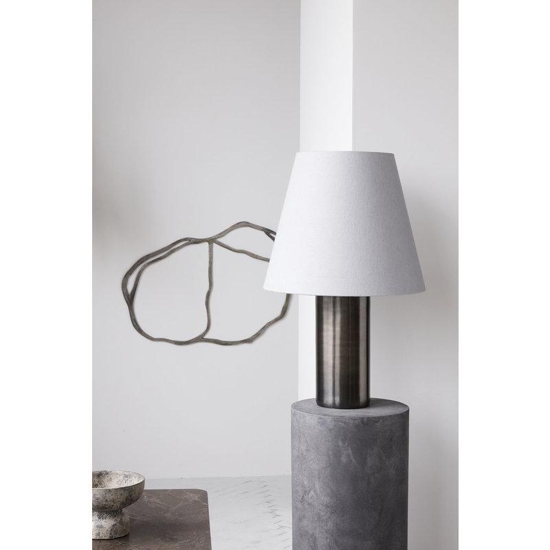 House Doctor-collectie Table lamp Bakora, Antique metallic