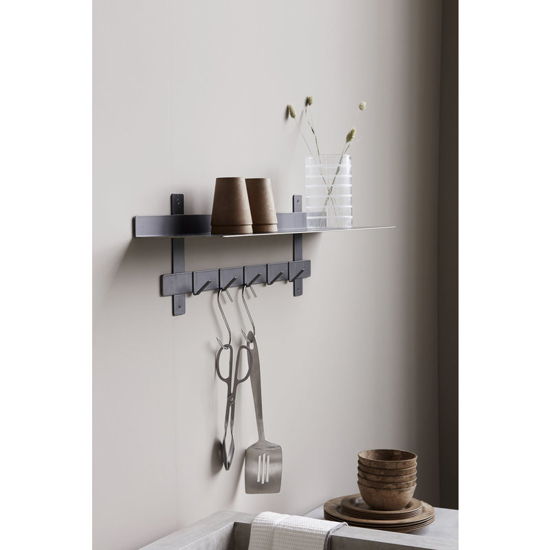 House Doctor-collectie Rack Tag, Iron