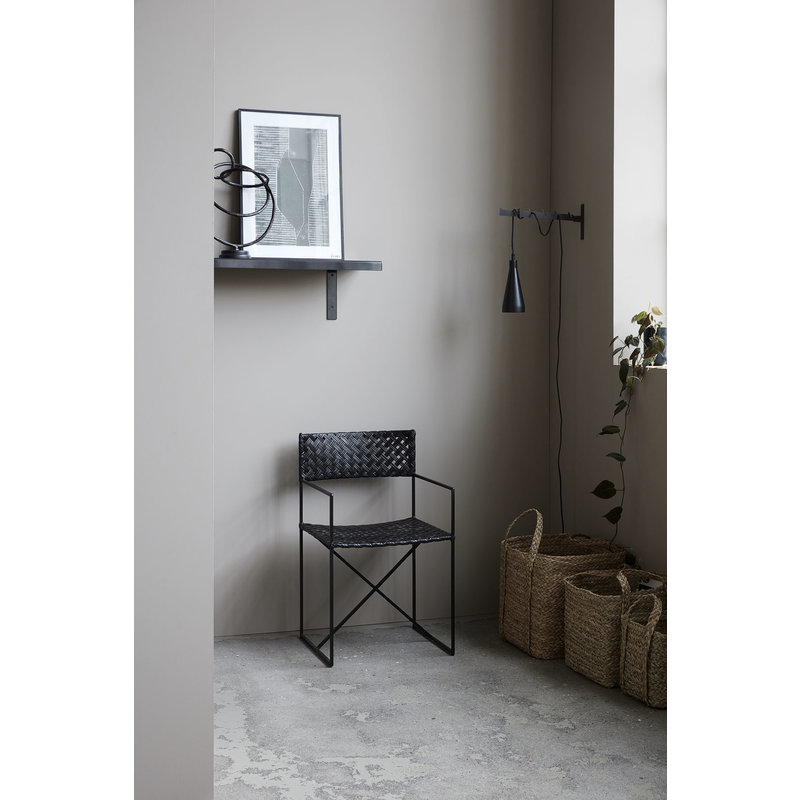 House Doctor-collectie Chair Oscar, Black