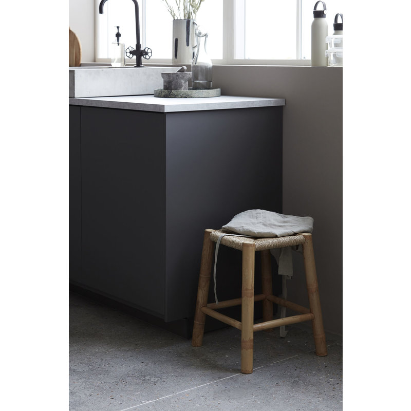 House Doctor-collectie Stool Kalyan, Nature