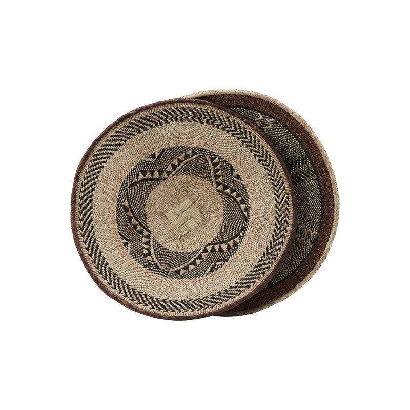 House Doctor-collectie Mand Tonga Dia: 45 cm print en afwerking variëren