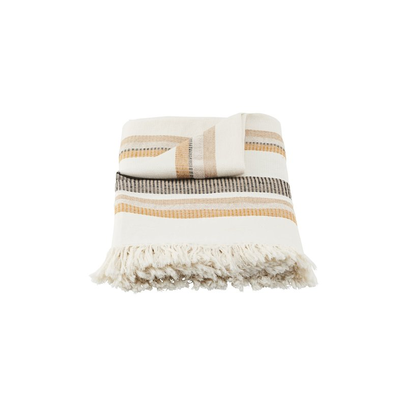 House Doctor-collectie Plaid Marly, Off-White