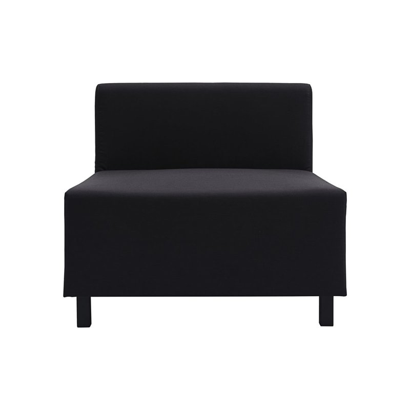 House Doctor-collectie Sofa, Middle section, Base, Black