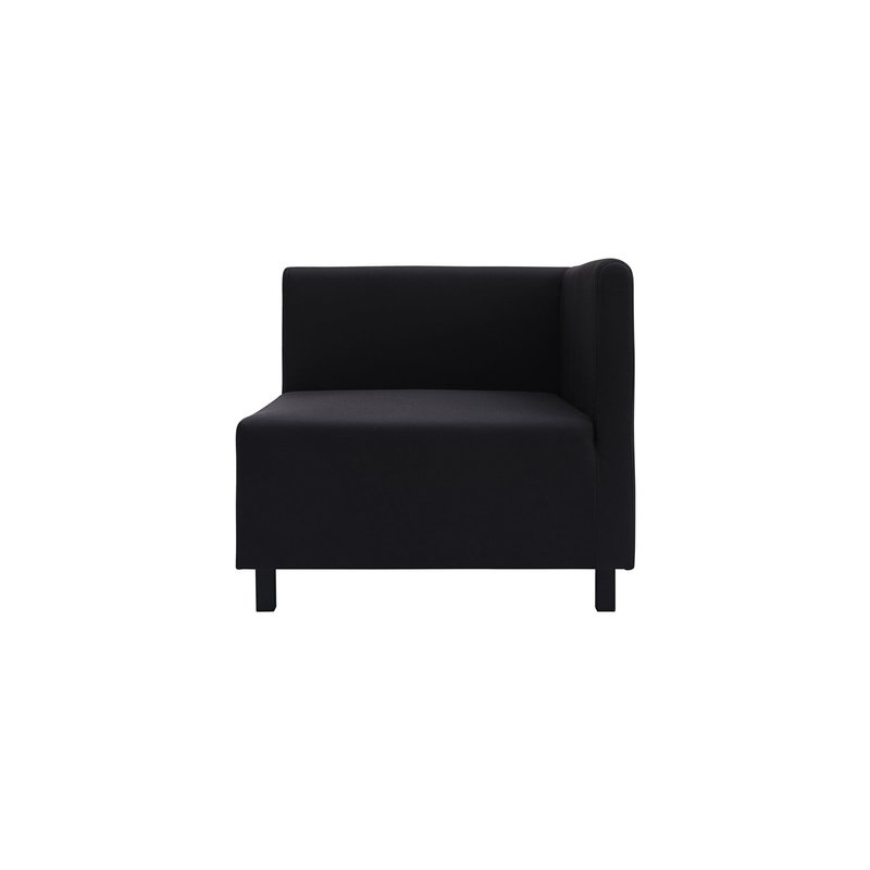 House Doctor-collectie Sofa, Corner section, Base, Black
