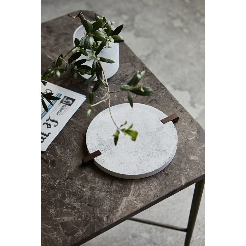 House Doctor-collectie Coaster, Truvet, Light grey