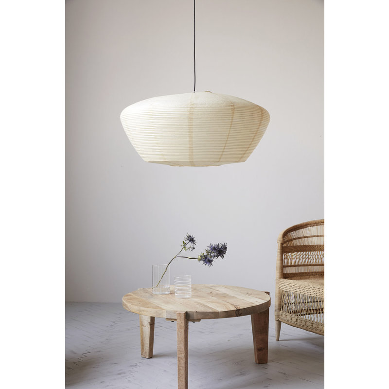 House Doctor-collectie Lampshade, Bidar, Sand, Max 60 W