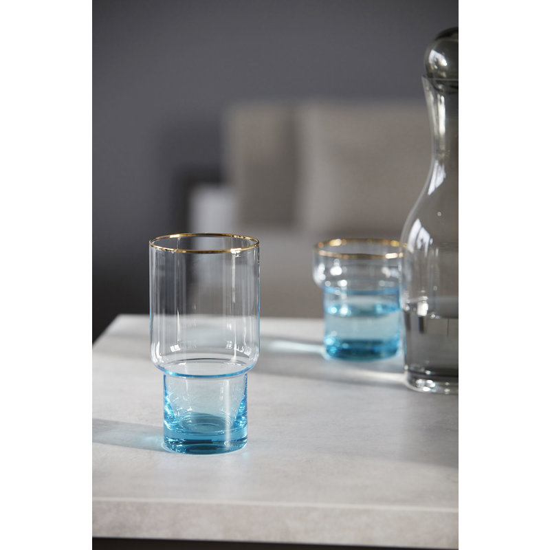 House Doctor-collectie Glass, Indora, Light blue, 600 ml