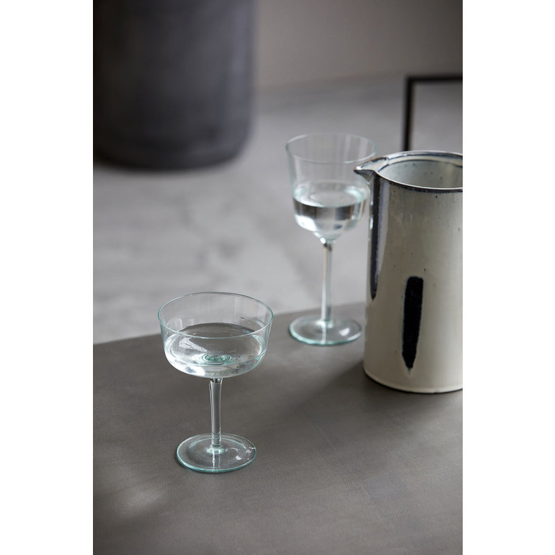 House Doctor-collectie Cocktail glass, Ganz, Green, 350 ml