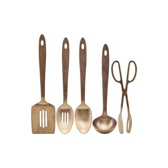 House Doctor Kitchen tools, Take, Copper finish, 5 pcs/pack