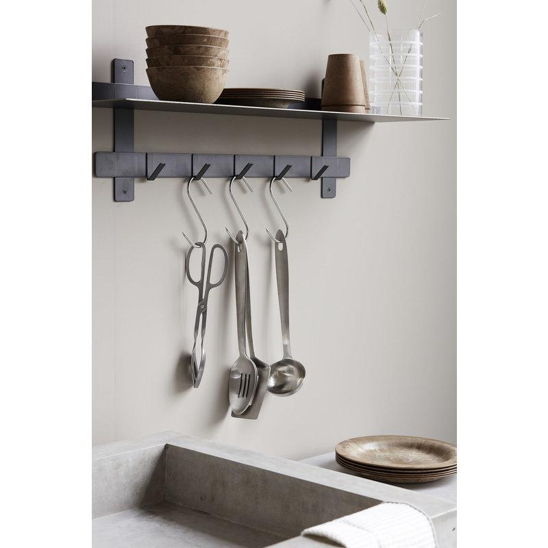 House Doctor-collectie Set keuken gereedschap Take  zilver