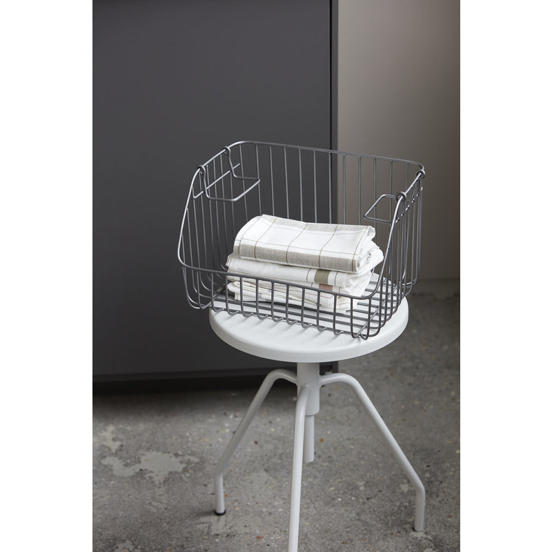 House Doctor-collectie Storage, Nagpur, Stackable, Grey 32x4x20 cm