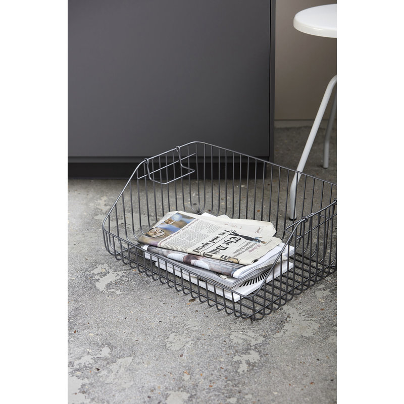 House Doctor-collectie Storage, Nagpur, Stackable, Grey 50x35x20 cm
