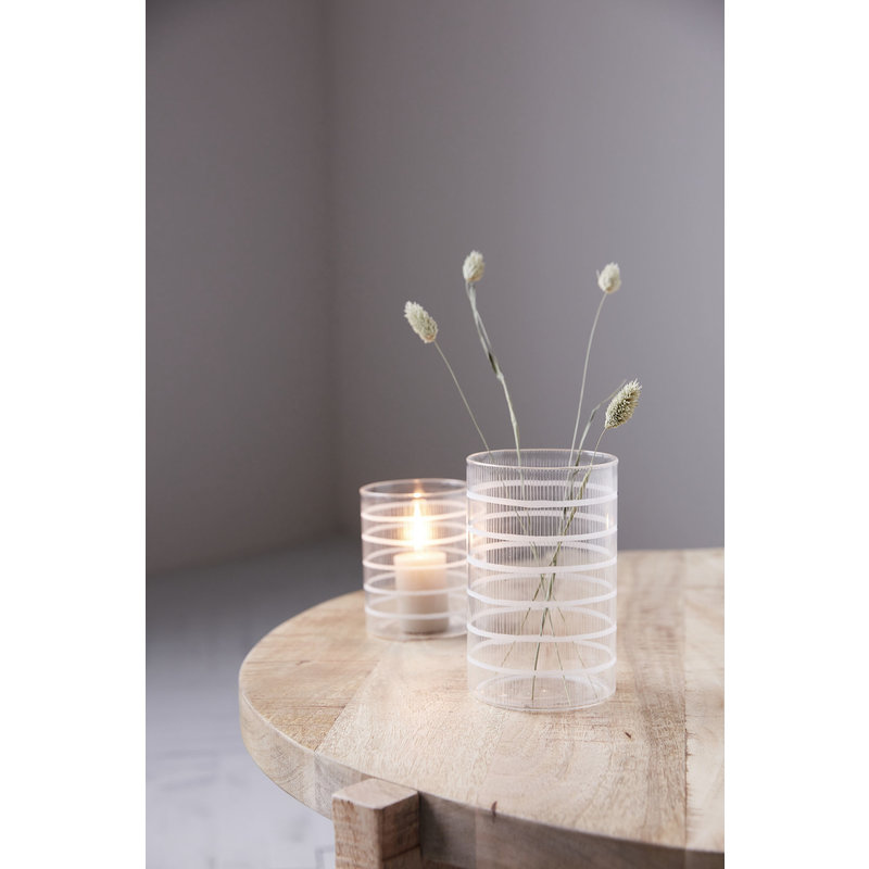 House Doctor-collectie Tealight, Breeze, Clear 16cm