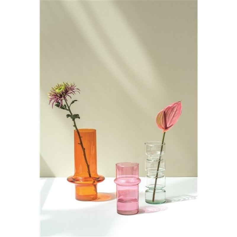 Urban Nature Culture-collectie Vase recycled glass Paloma