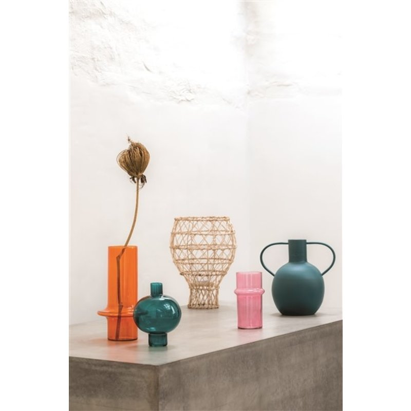 Urban Nature Culture-collectie Vaas recycled glas roze
