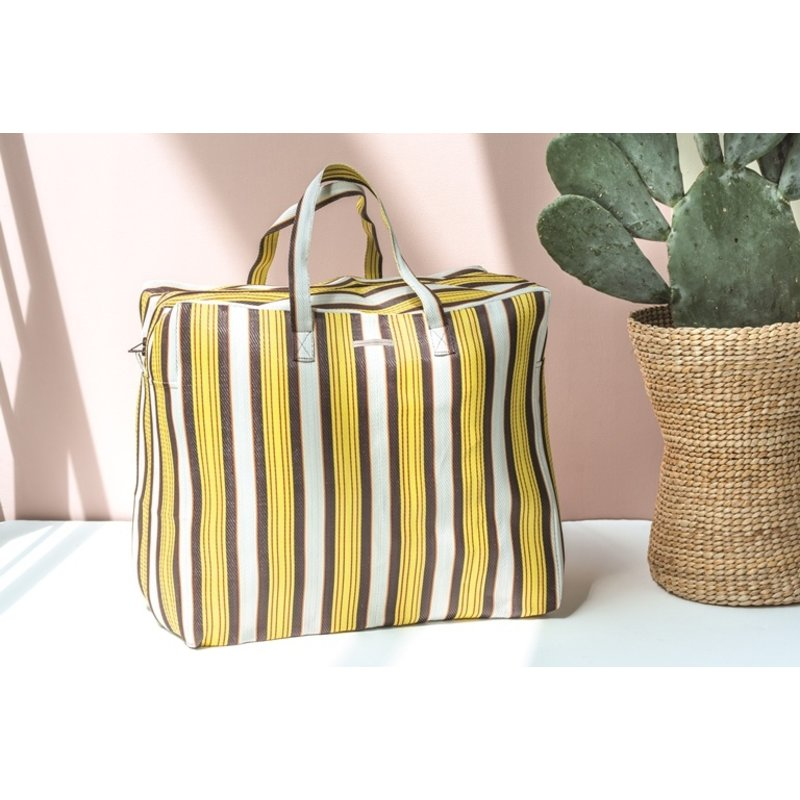 Urban Nature Culture-collectie Bag recycled plastic stripe